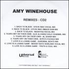Amy Winehouse - Back to Black (Remixes)