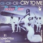 Cr-Cr-Cr-Cry To Me (VLS)