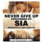 SIA - Never Give Up (CDS)