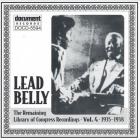 The Remaining Library Of Congress Recordings Vol. 4 1935-1938