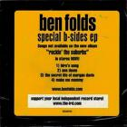 Ben Folds - Special B-Sides (EP)