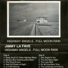 Jimmy Lafave - Highway Angels ... Full Moon Rain (Tape)